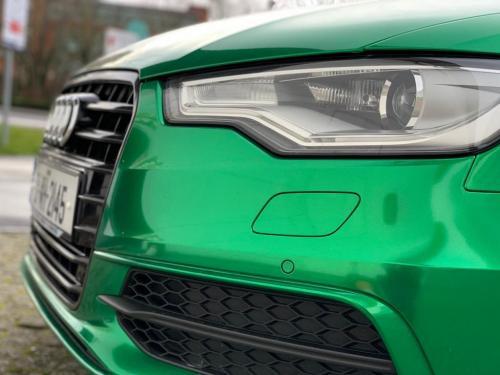 Audi A6 Radio active Green wrap